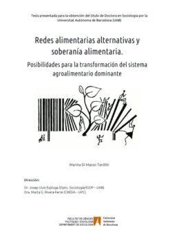 Redes alimentarias alternativas y soberanía alimentaria