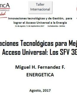 Innovaciones tecnológicas para mejorar el acceso universal