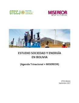 Estudio: Sociedad y Energía en Bolivia