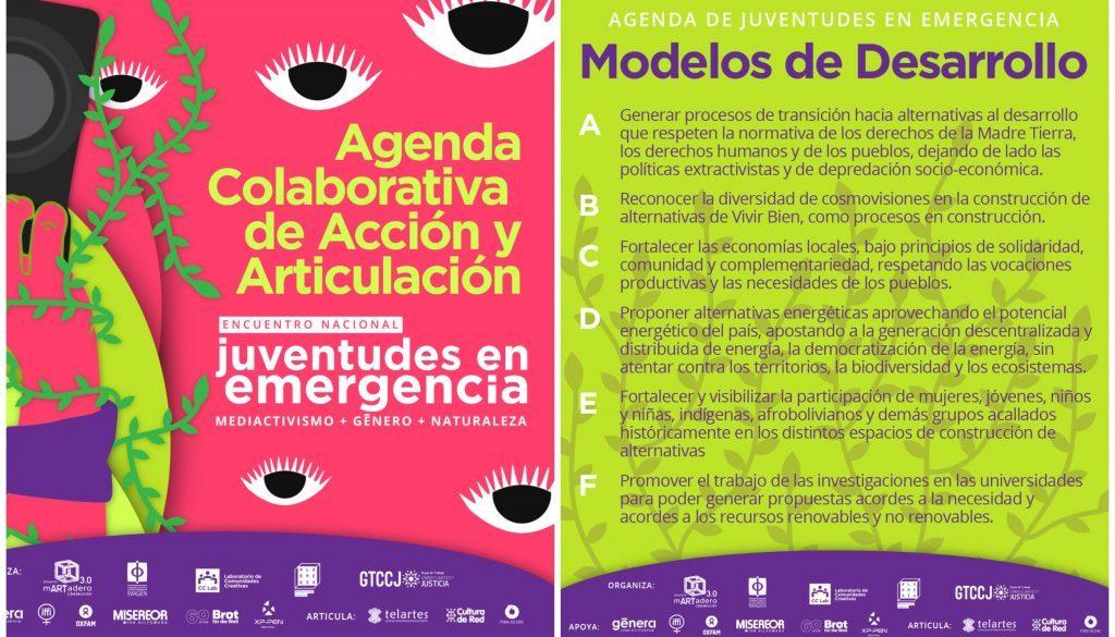 Agenda de Juventudes Collage