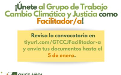 Únete al GTCCJ Bolivia como Facilitador/a
